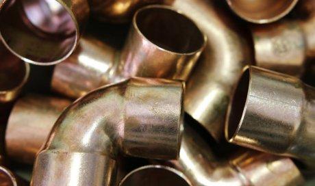 Installation de tuyauterie frigorifique brasure forte cuivre à Villefranche-sur-Saône CAPFROID