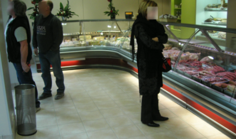 Vitrine - boucherie - charcuterie- fromagerie - chambre froide